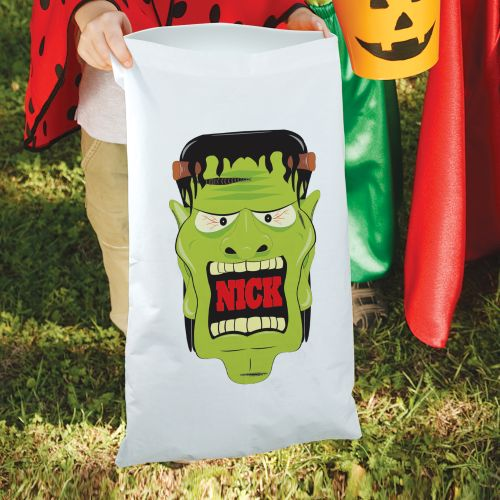Personalized Frankenstein Halloween Pillow Case