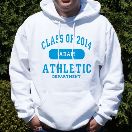 Class of 2015 Personalized Graduation Athletic Dept. Graduation Hoodie