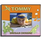 Personalized Dinosaur Boys Picture Frames