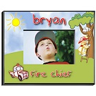 Fireman Personalized Boys Picture Frames