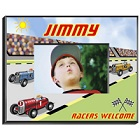 Race Car Driver Personalized Boys Picture Frames