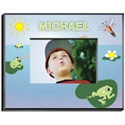 Personalized Frog Boys Picture Frames