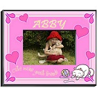 Kitten Personalized Girls Picture Frames