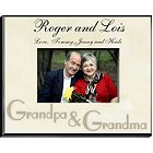 Personalized Grandparents Parchment Picture Frames