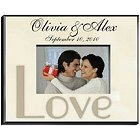Personalized Love Parchment Picture Frames