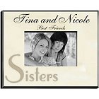 Sisters Special Moments Personalized Parchment Picture Frames