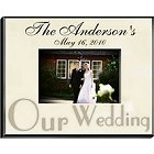 Personalized Wedding Parchment Picture Frames