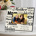 Mom-Mother Personalized Mothers Day Parchment Picture Frames