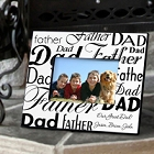 Personalized Dad-Father Picture Frames