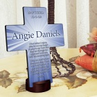 Starburst Personalized Cross