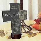 Paisley Praise Personalized Cross