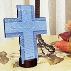 Twinkling Star Personalized Cross