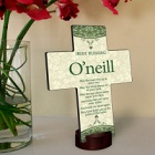 Classic Irish Personalized Cross