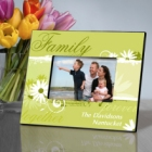 Delicate Daisy Personalized Family Picture Frames