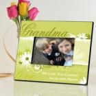 Delicate Daisy Personalized Grandma Picture Frames