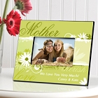 Delicate Daisy Personalized Mother Picture Frames