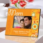 Sunshine & Flowers Personalized Mother Picture Frames