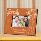 Breath of Spring Personalized Family Picture Frames
