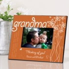 Breath of Spring Personalized Grandma Picture Frames