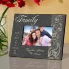 Pretty Paisley Personalized Family Picture Frames