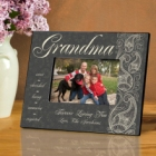 Pretty Paisley Personalized Grandma Picture Frames