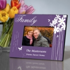 Bloomin Butterfly Personalized Family Picture Frames