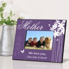 Bloomin Butterfly Personalized Mother Picture Frames