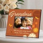 Springtime Celebrations Personalized Grandma Picture Frames