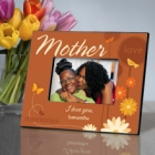 Springtime Celebrations Personalized Mother Picture Frames