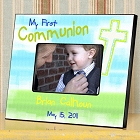 Personalized Colorful First Communion Picture Frames