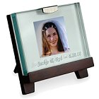 Personalized Glass Picture Frame With Stand