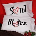 Soul Mates Personalized Pillowcase Set