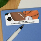280 All Sports Personalized Address Labels