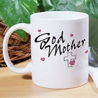 Personalized Godmother Ceramic Coffee Mug