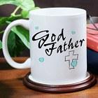Personalized Godfather Ceramic Coffee Mug