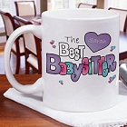 Babysitter Personalized Coffee Mug