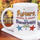 Remarkable Sisters Personalized Coffee Mug