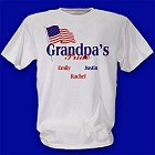 USA American Pride Personalized T-Shirts