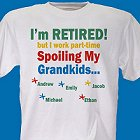 Any Title I'm Retired Personalized T-shirts