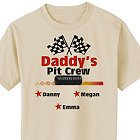 Pit Crew Personalized T-Shirts