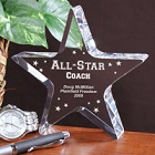 Personalized All-Star Coach Keepsake
