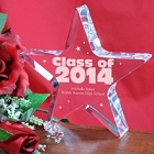 Class of 2015 Personalized Graduation Star Keepsakes