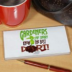 Gardeners Know The Best Dirt Personalized Checkbook Covers