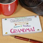 Anybody Can Be A Grandmother Personalized Checkbook Covers