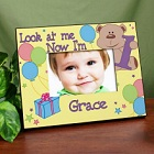 Look at Me Personalized Birthday Picture Frame