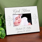 Personalized Christening Printed Photo Frames
