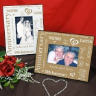 Personalized Golden Anniversary Picture Frames