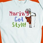 Got Style Personalized Stylist Sweatshirt