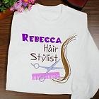 Personalized Hair Stylist Sweatshirt