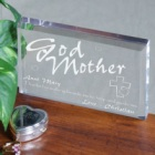 Personalized Godmother Keepsake Block